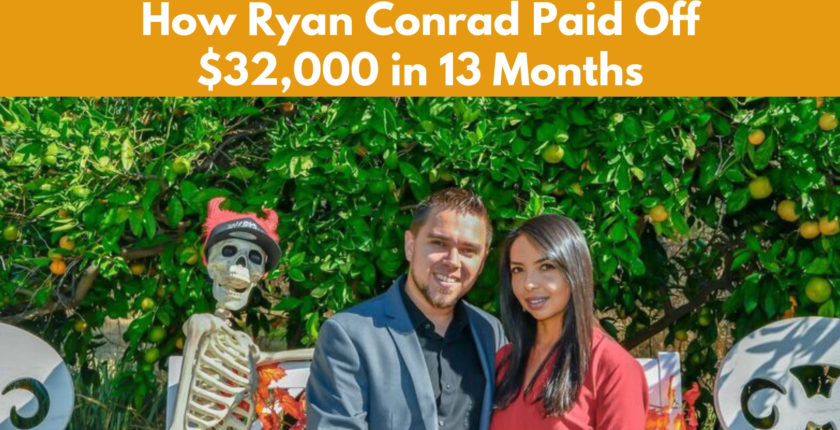 How Ryan Conrad Paid Off $32,000 in 13 Months