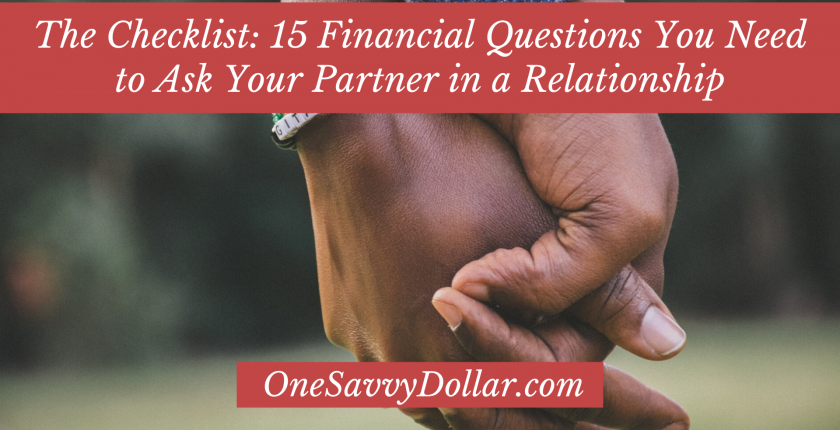 15 Financial Questions to Ask Your Partner in a Relationship