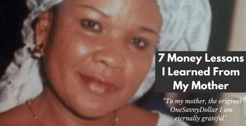 7 Money Lessons I Learned From My Mother